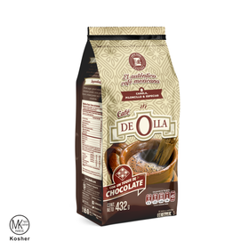 CAFE DE OLLA CHOCOLATE MOLIDO REGULAR 432 G