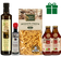 Food Basket Gift from Sicily - Gourmet Farm Fresh Clean Food from Artisans in Italy | Extra Virgin Olive Oil, Balsamic Glaze, Busiate Durum Pasta, Cherry Tomato Sauce | Papa Vince