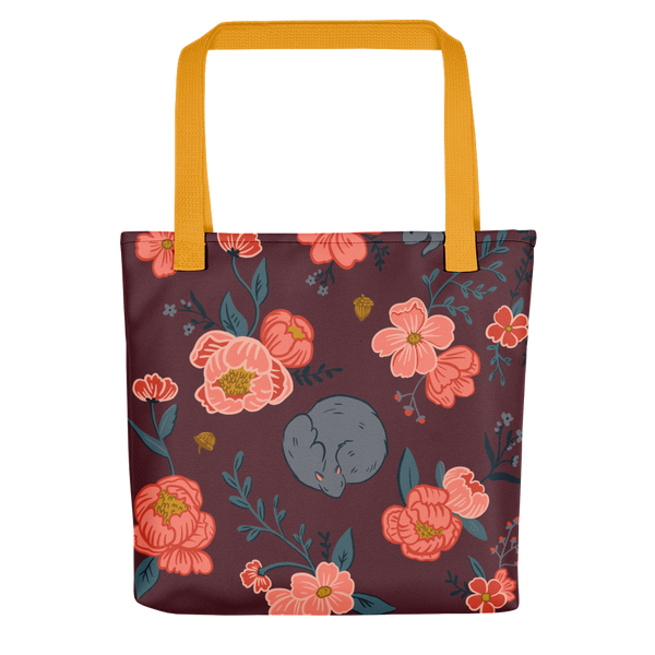 Squirrel Pattern Tote