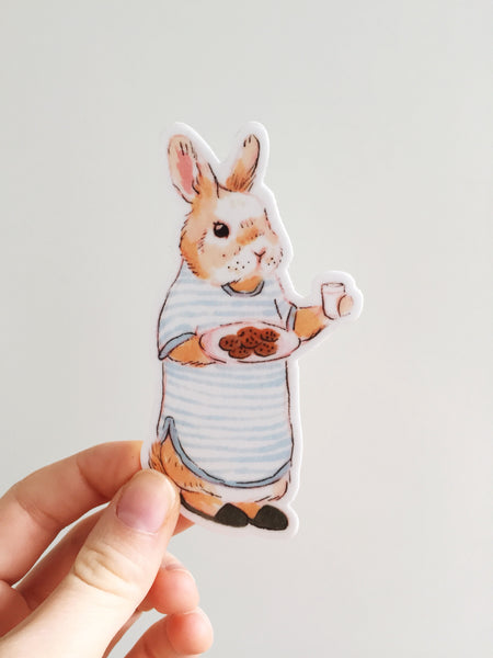 Cookie Bunny Sticker