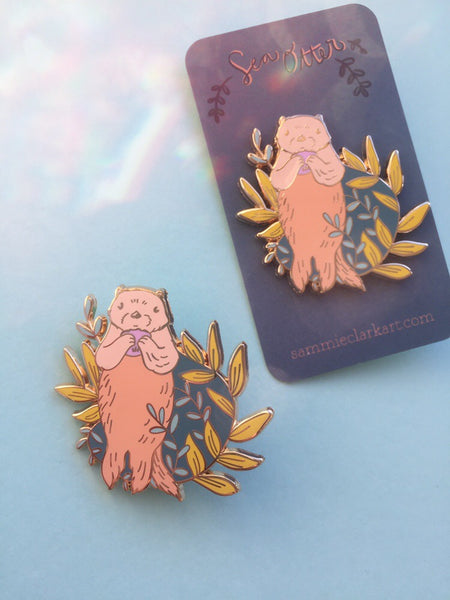 Sea Otter pin