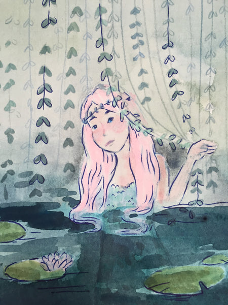 Lily Pad Mermaid Original
