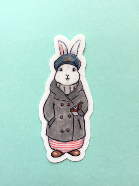 Sailor Bunny Sticker