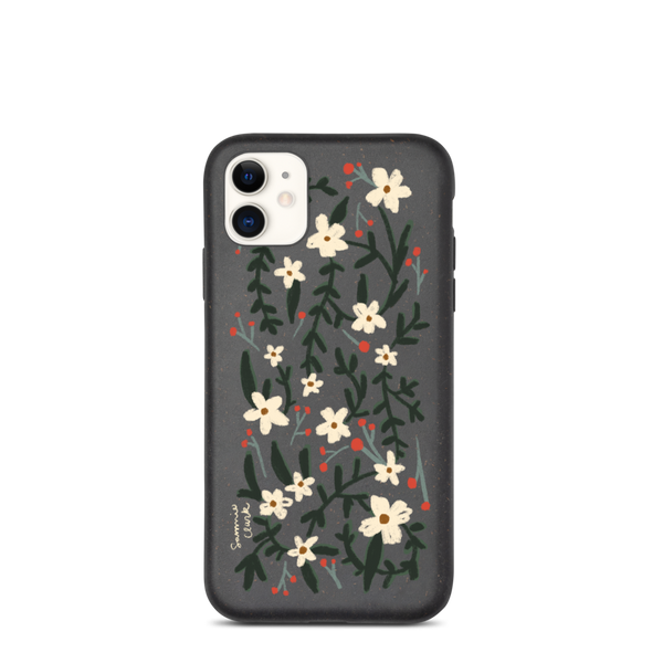 Biodegradable iPhone case- Daisies
