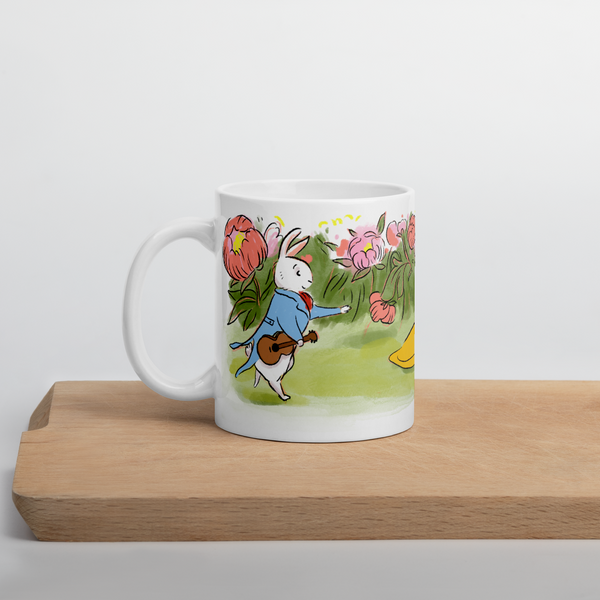 Romantic Bunnies Mug