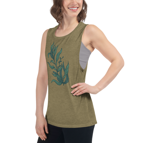 Blue Kelp Women's Muscle Tank