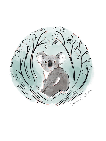 Koala Print for Charity (recycled paper) Limited Edition