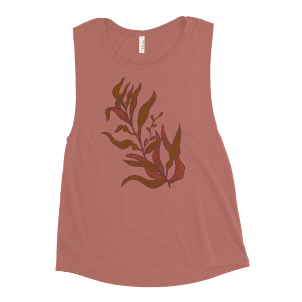 Warm Kelp Women's Muscle Tank