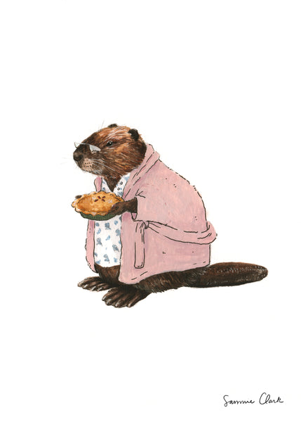 Mrs. Beaver Limited Edition print