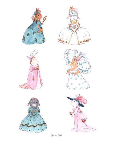 Bunny Fashion Through the Eras