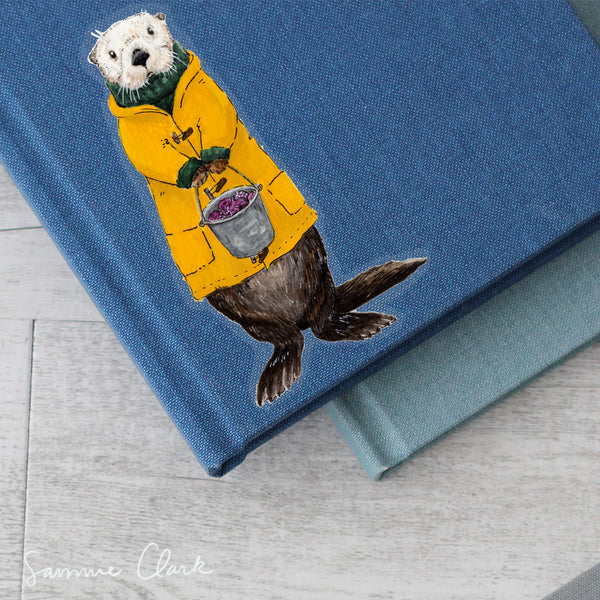 Charles the Sea Otter Sticker