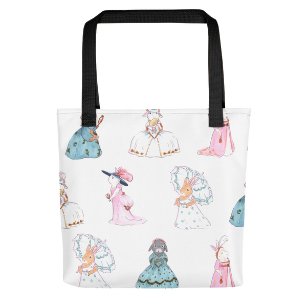 Bunnies Through the Eras Tote