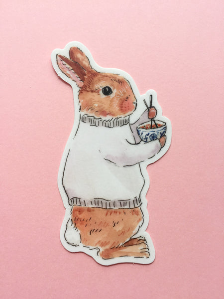 Friday Bun Sticker