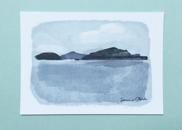 Islands Landscape Limited Edition Print