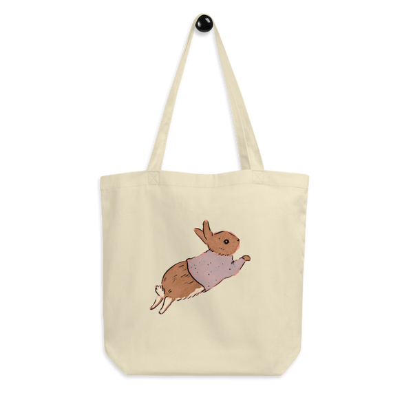 Jumping Bunny Eco Tote