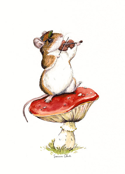 Pippin the Deer Mouse Limited Edition Print
