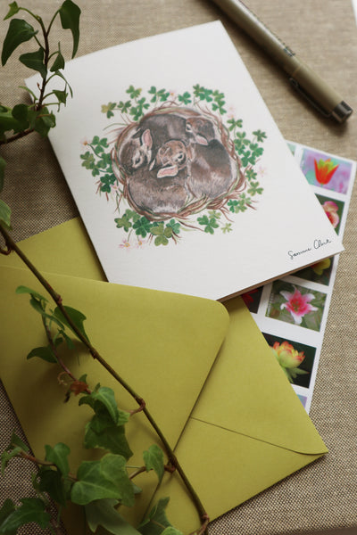 Bunny Nest Stationery