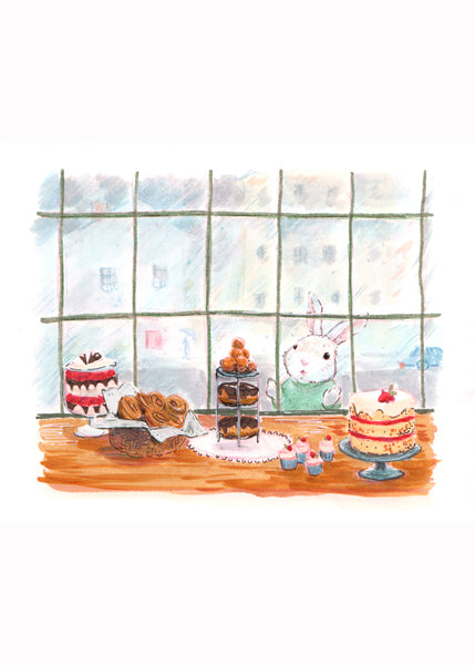 Pastry Window Bunny
