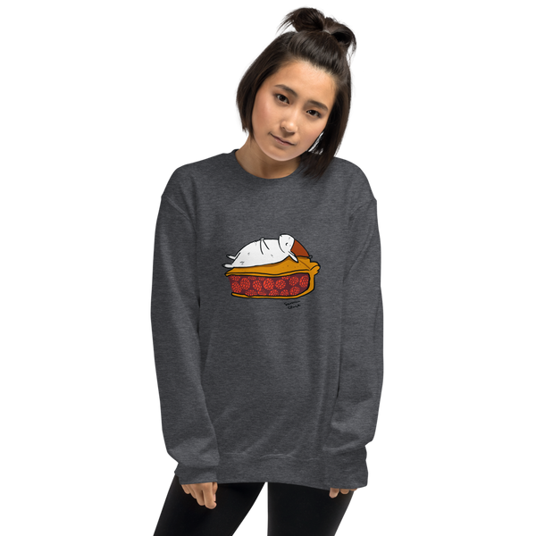 Pie Bunny Gray Sweatshirt