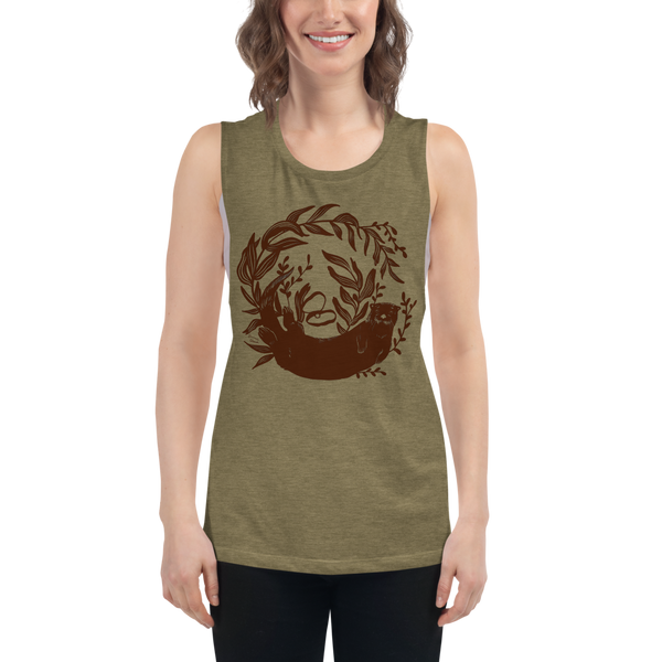 River Otter Women's Muscle Tank