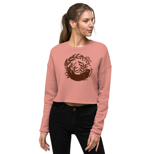 River Otter Cropped Sweatshirt