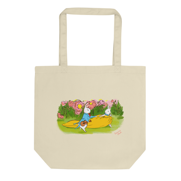 Romantic Bunnies Eco Tote