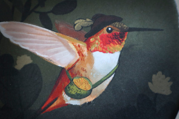 Rufous Hummingbird Limited Edition Print for Conservation