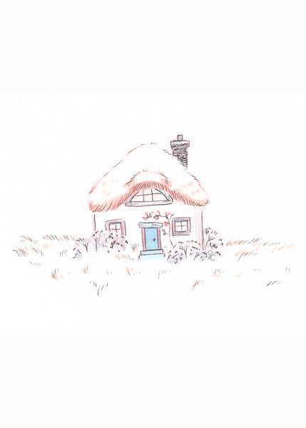 Tiny Cottage Print