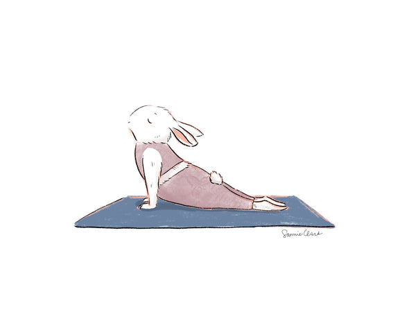 Yoga Bunny- Upward Bun