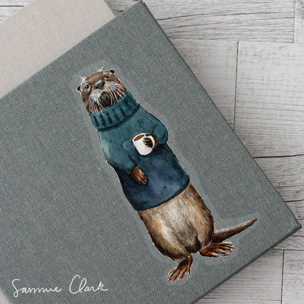 Wesley the River Otter Sticker