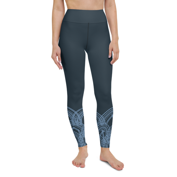 Deep Ocean Yoga Leggings