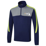 Supporters Club 1/4 Zip Navy/Lime