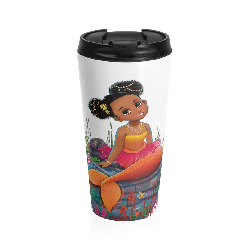 Stainless Steel Ariya the Mermaid Travel Mug