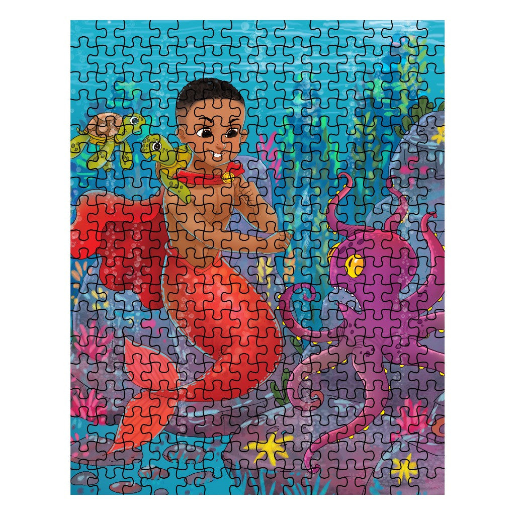 Qadir the Mermaid Puzzle