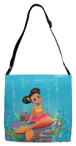 Ariya the Mermaid Adjustable Strap Totes