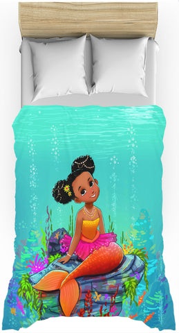 Ariya the Mermaid Duvet Cover