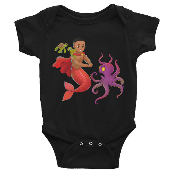 Qadir the Mermaid Infant Bodysuit