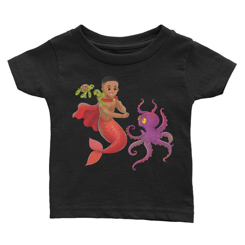 Qadir the Mermaid Infant Tee