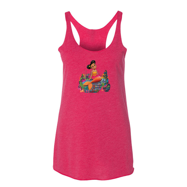 Women's Ariya the Mermaid© tank top