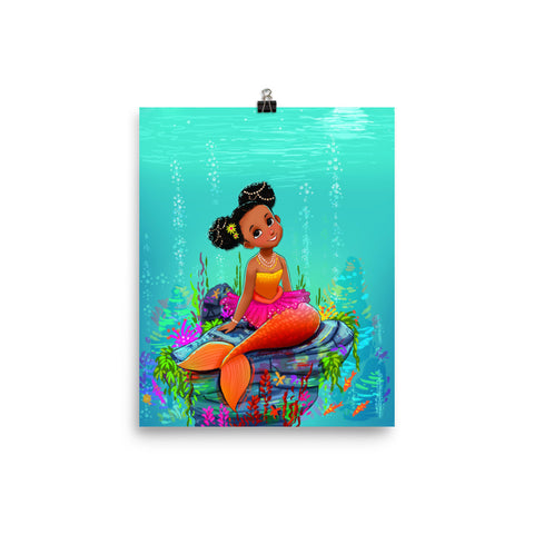 Ariya the Mermaid© Photo paper poster