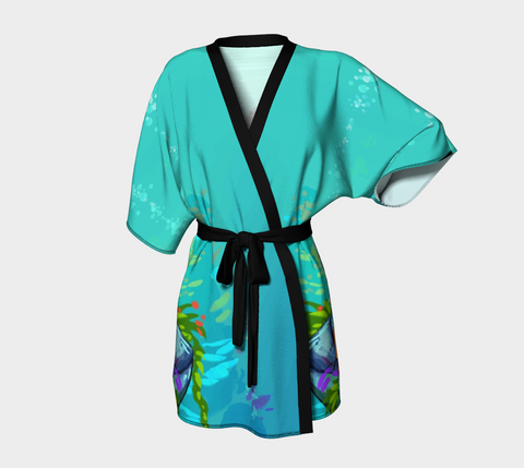 Ariya the Mermaid© Adult Kimono Robe