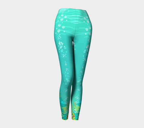 Ariya the Mermaid© Adult Seawater Leggings