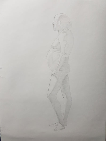 Life Drawing_Long Pose 01_WIP_20161031