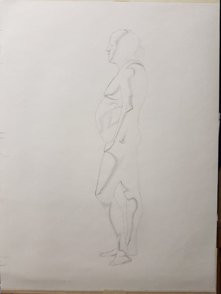 Life Drawing_Long Pose 01_WIP_20161102