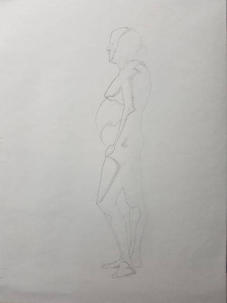 Life Drawing_Long Pose 01_WIP_20161103