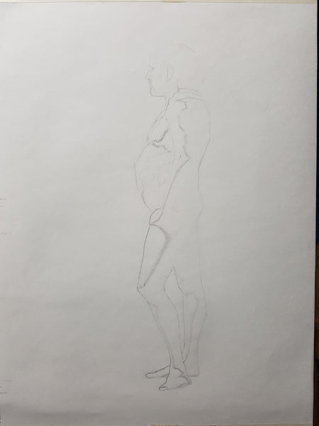 Life Drawing_Long Pose 01_WIP_20161104