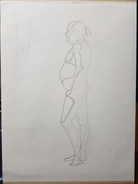 Life Drawing_Long Pose 01_WIP_20161109
