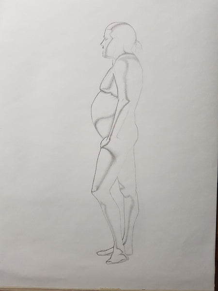 Life Drawing_Long Pose 01_WIP_20161110