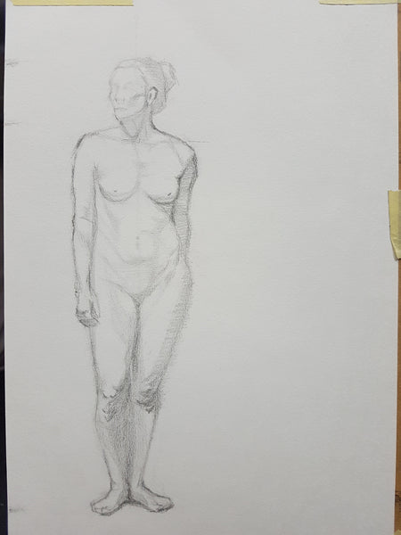 Life Drawing_Long Pose 02_WIP_20161115