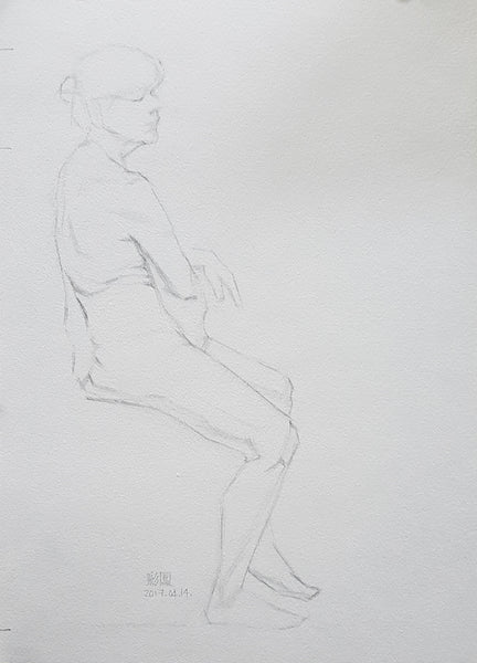Life Drawing_Short Poses_20170425_t03w02
